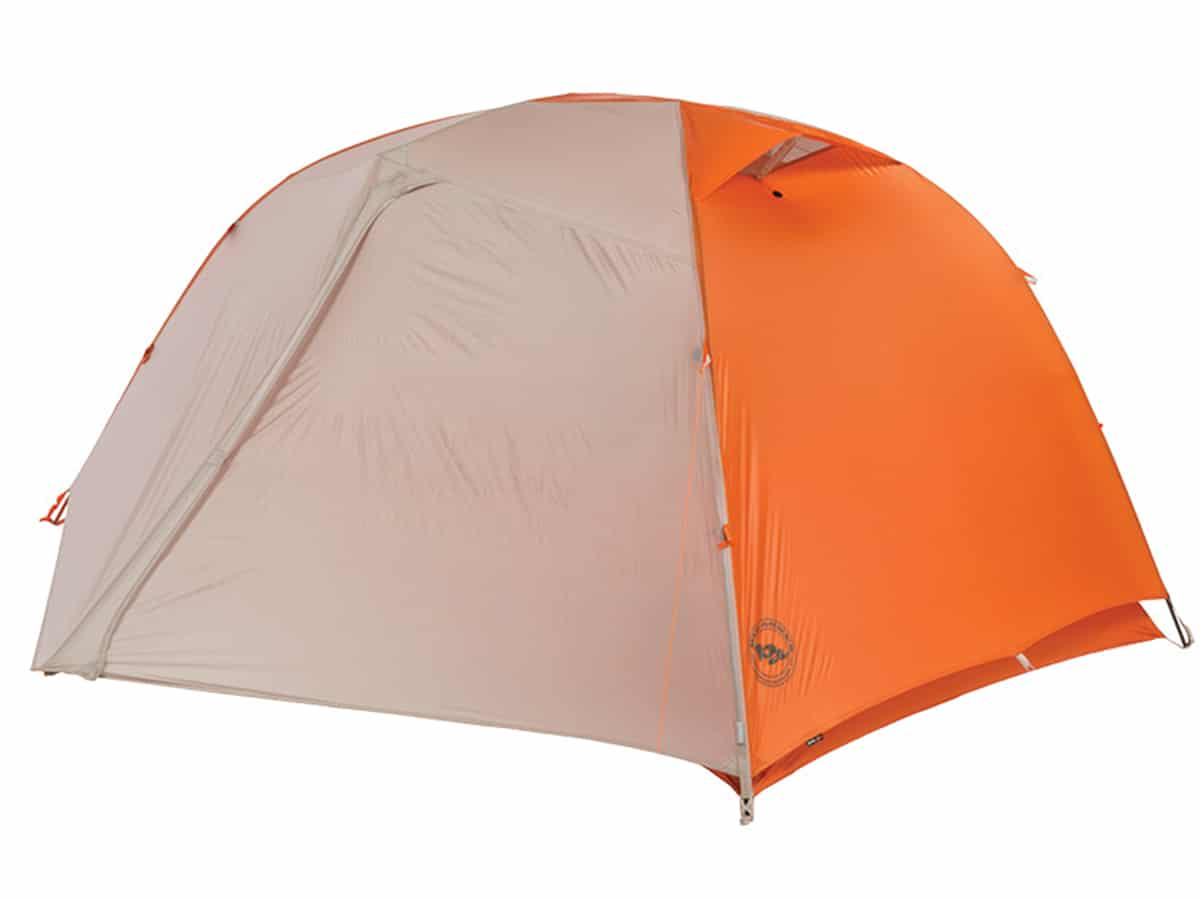 Big Agnes Copper Spur 2 Platinum Tent with fly on