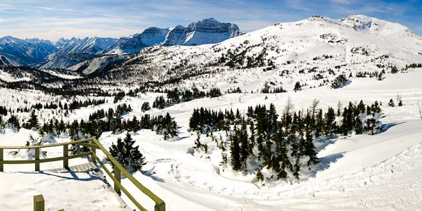 Snowshoeing in Sunshine Valley is a must-do attraction in Banff National Park during the winter