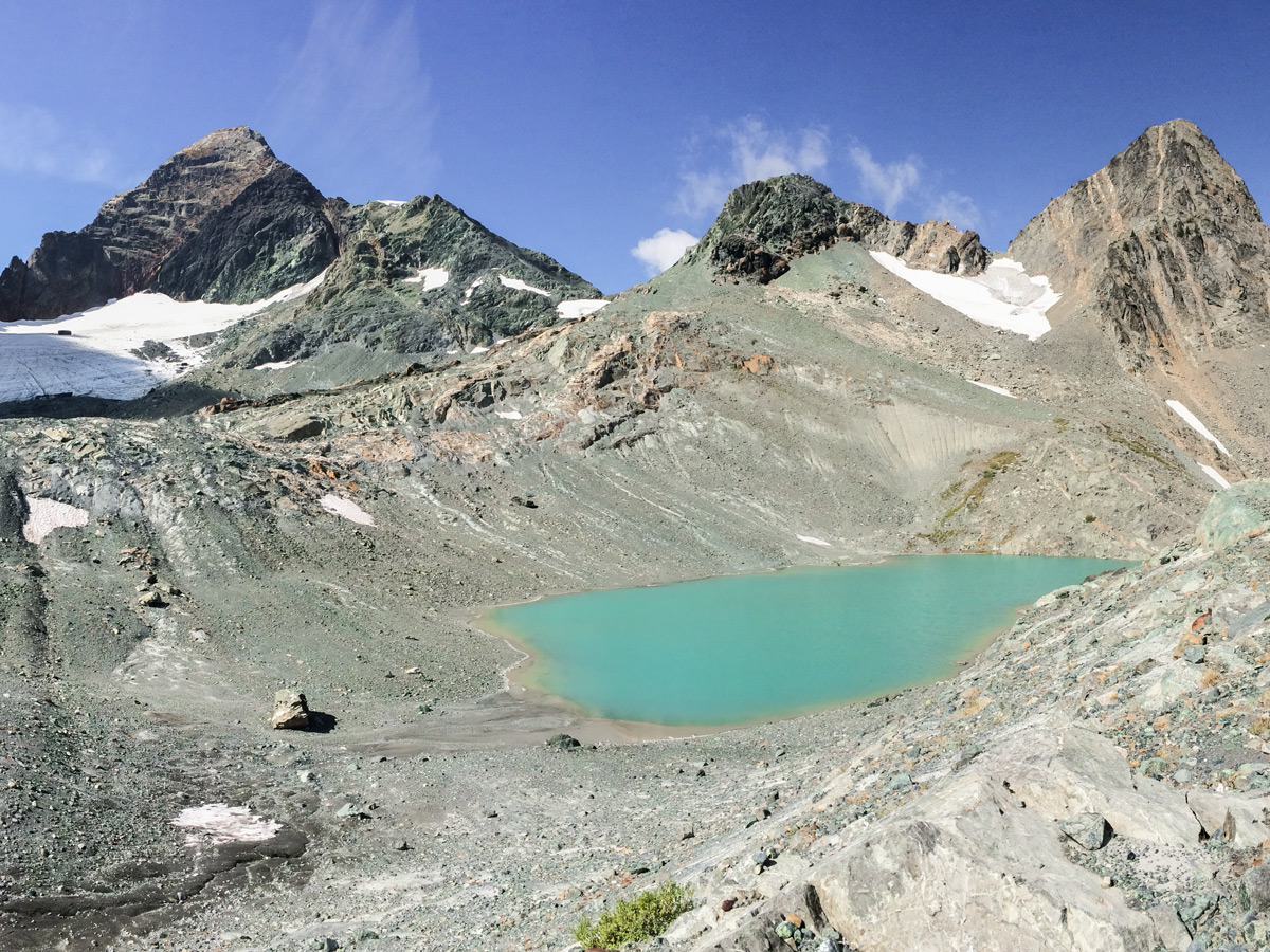 Whitewater Canyon hike in West Kootenays has a scrambly bit that leads to alpine lakes