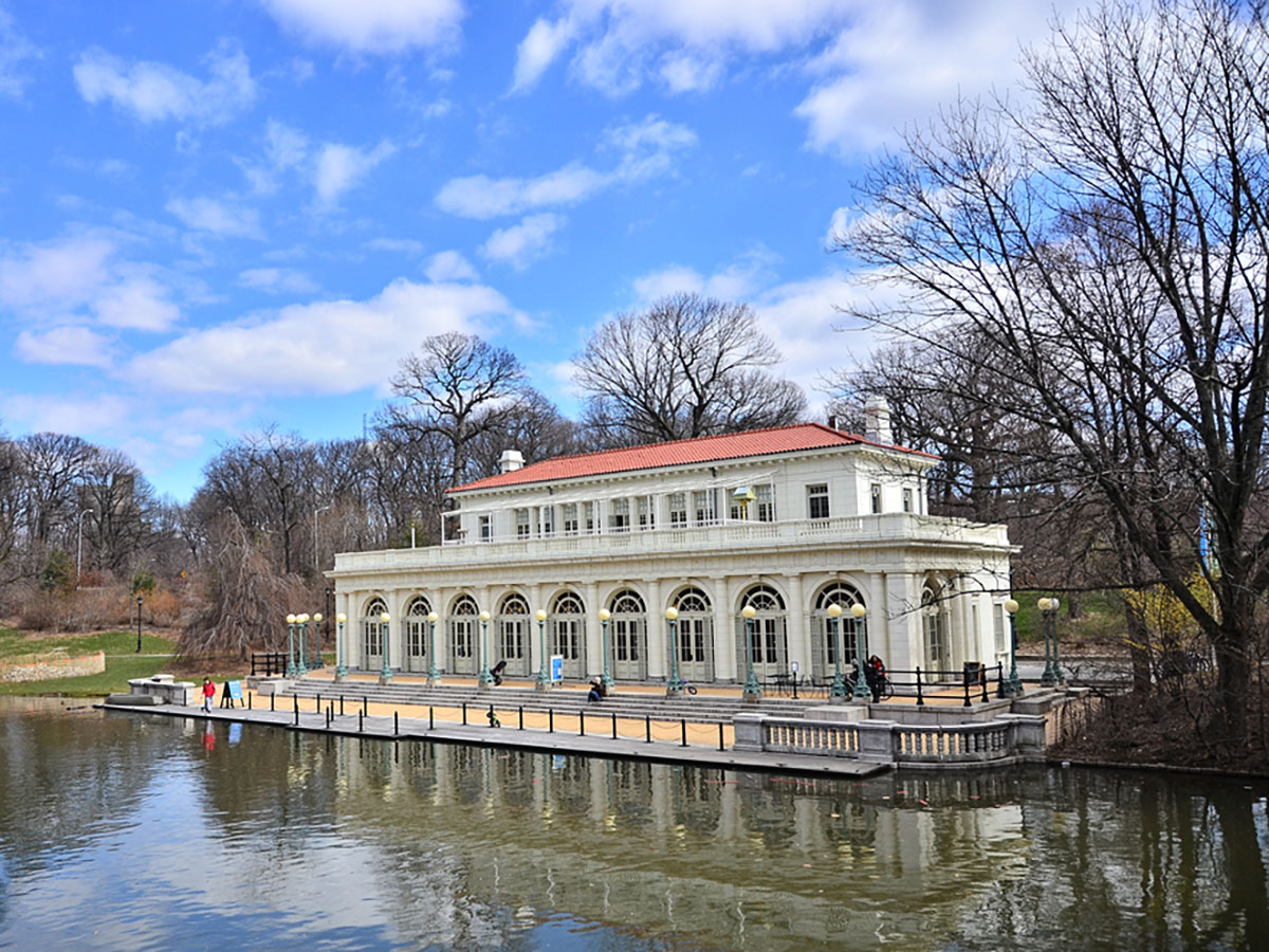 Prospect Park Boathouse in Brooklyn, New York City