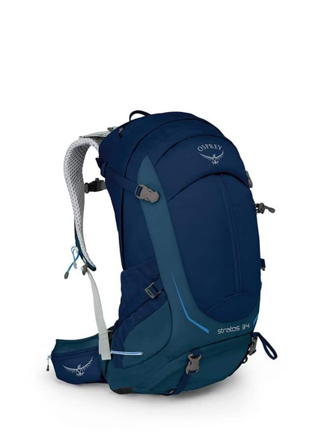 Osprey Stratos 34L Backpack in blue colour