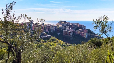Cinque Terre trail is one of the best hikes in Liguria region in Italy