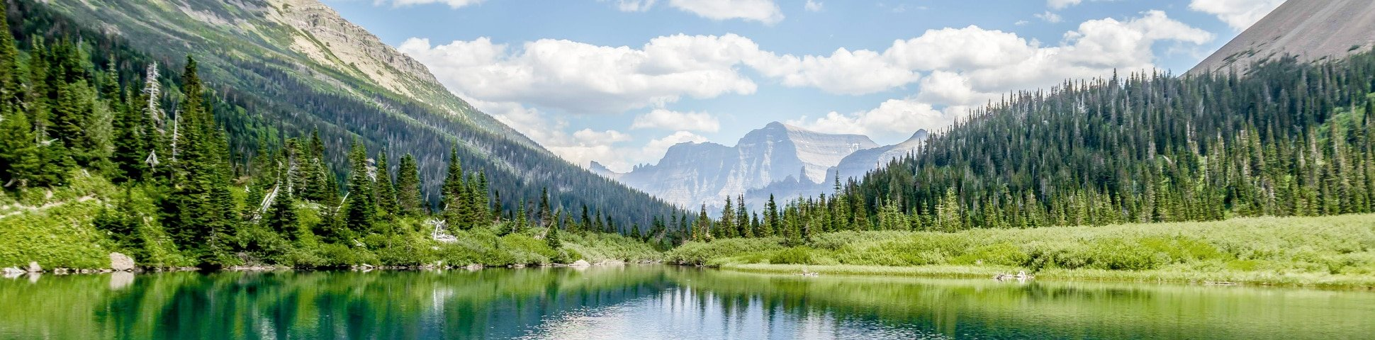 Boulder Pass Backpacking Trail in Glacier National Park has some of the best views of Montana
