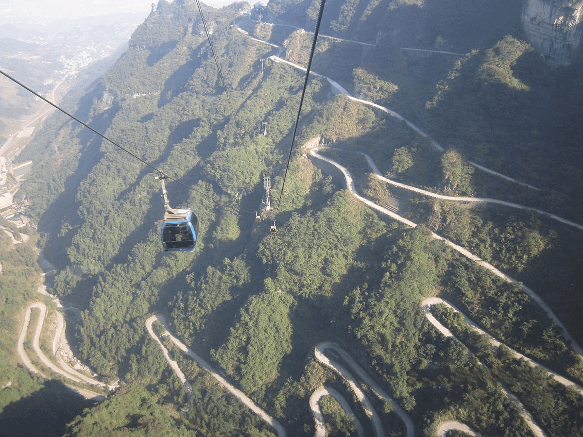 Tianmen Winding Mountain Road