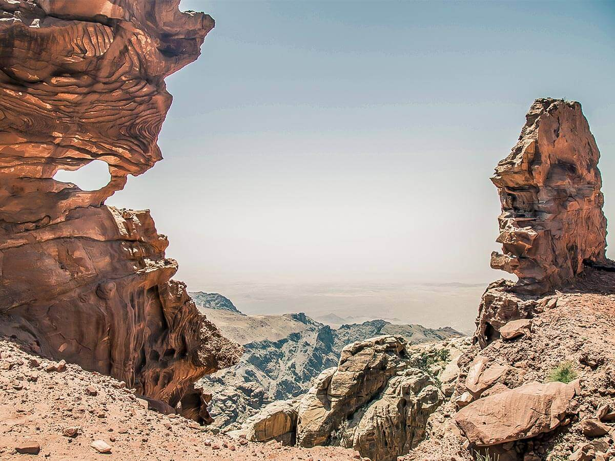Stunning desert views in Jordan