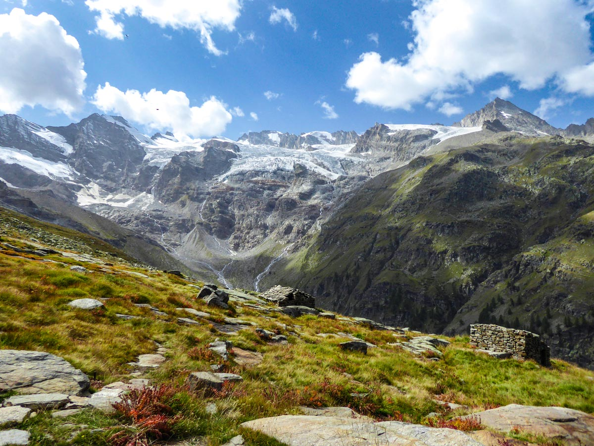 Alpe Money trail views in Gran Paradiso National Park