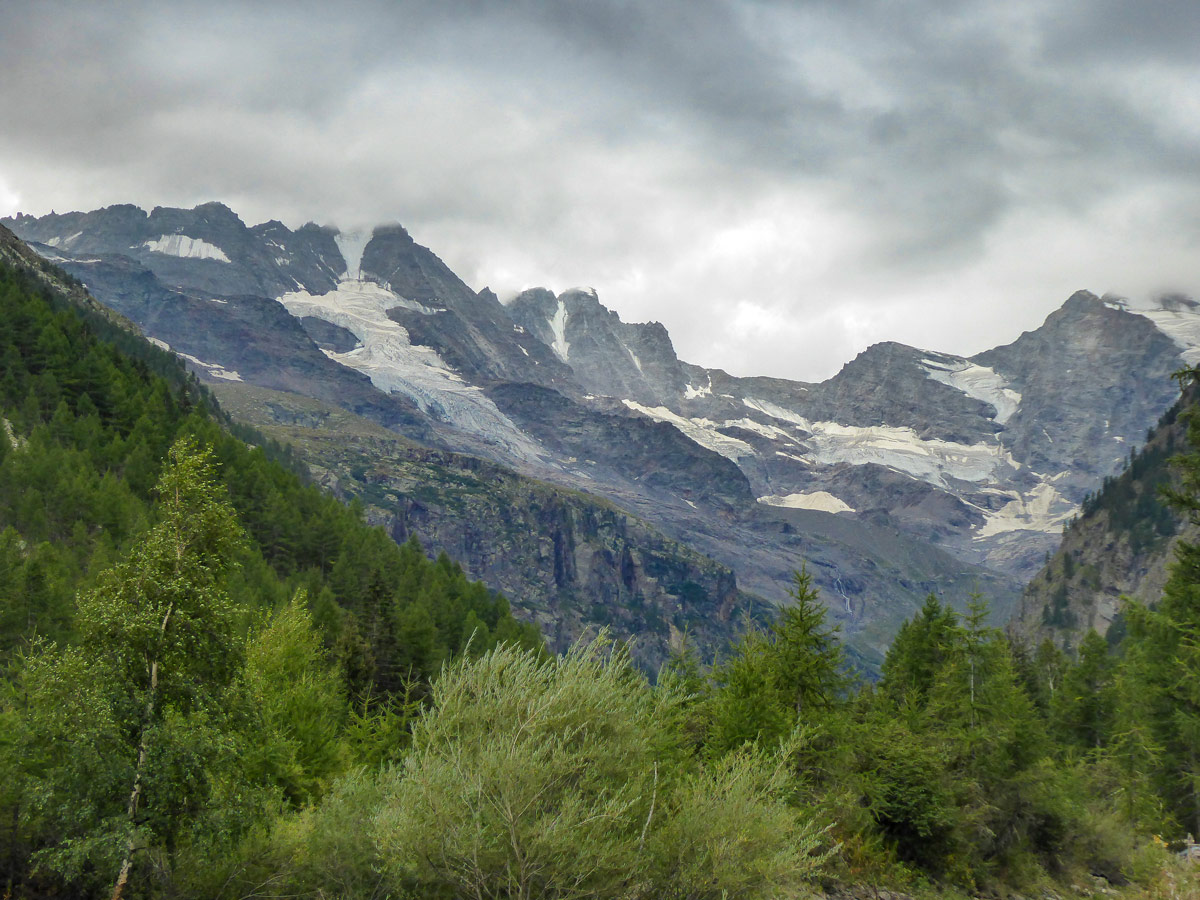 Tribolazione and Money Glaciers on Valnontey River hike in Gran Paradiso National Park, Italy