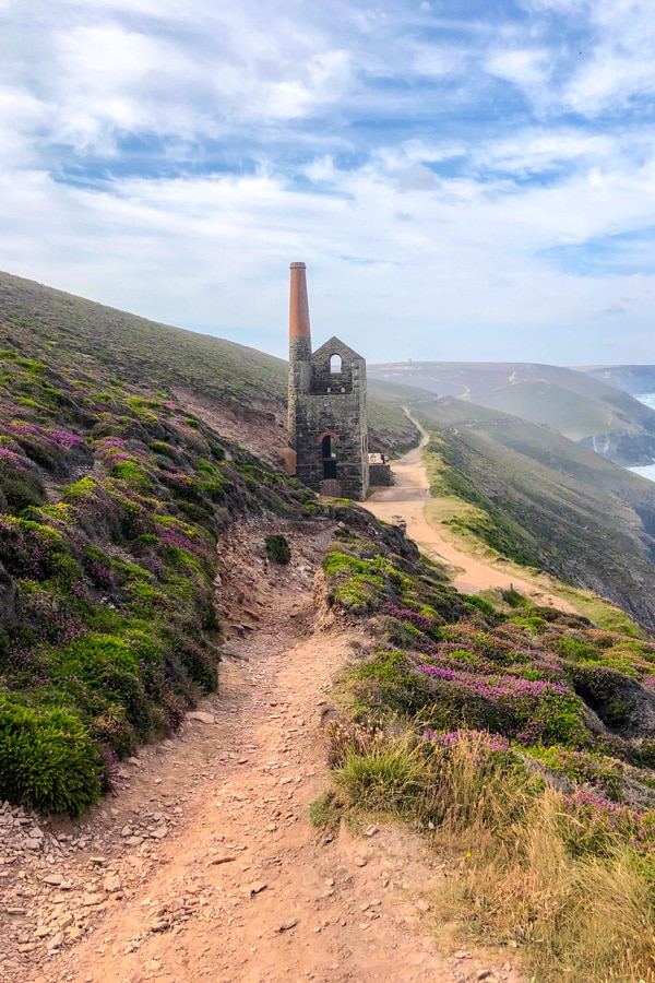 Towanroath mine shaft at Wheal Coates, near St Agnes