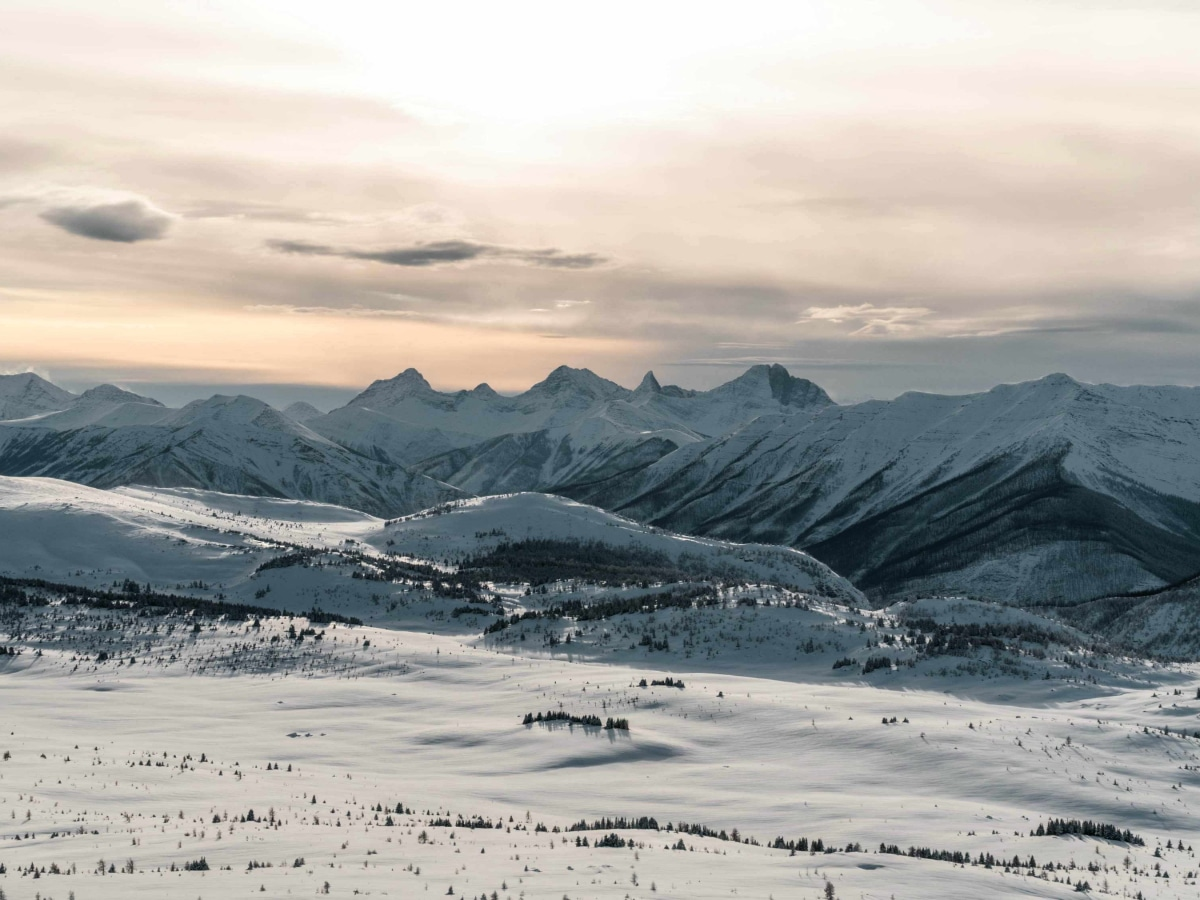 Amazing Mountain Views Photo Credit Banff Sunshine Resort