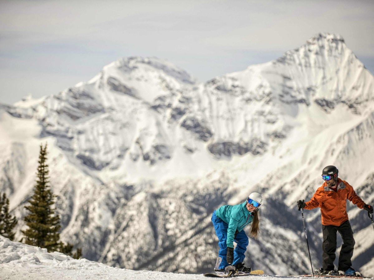 Skiing trip in the Rockies Photo Credit Panorama Mountain Resort