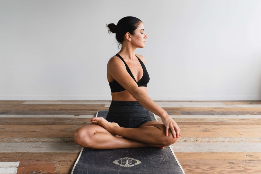 Training for the first backpacking trip yoga