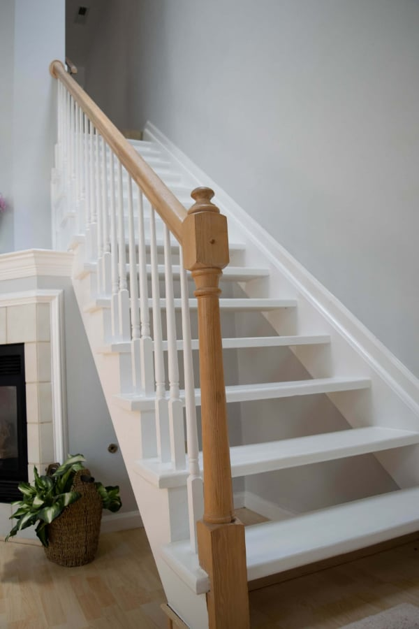 Training from home for hikes-use a staircase