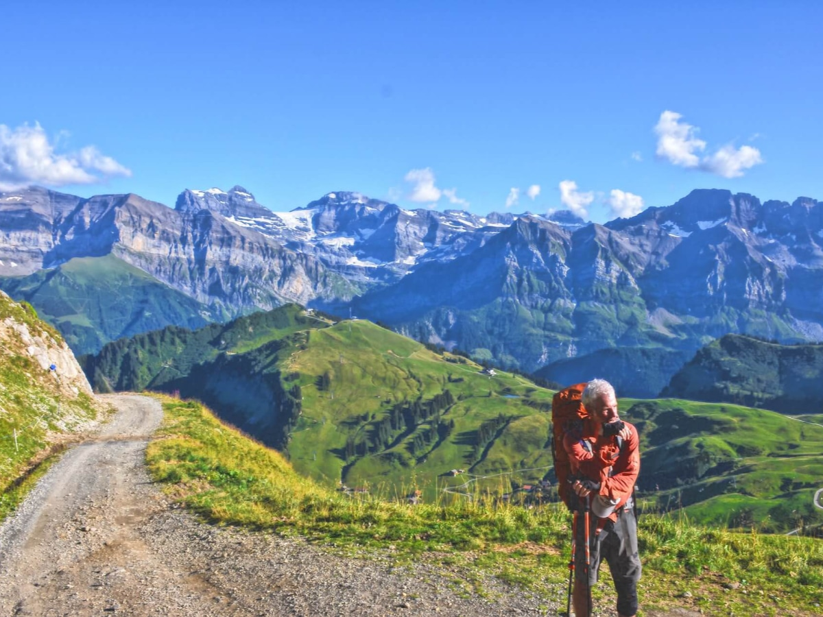 Couch to mountain top-hiking training has a lot of benefits