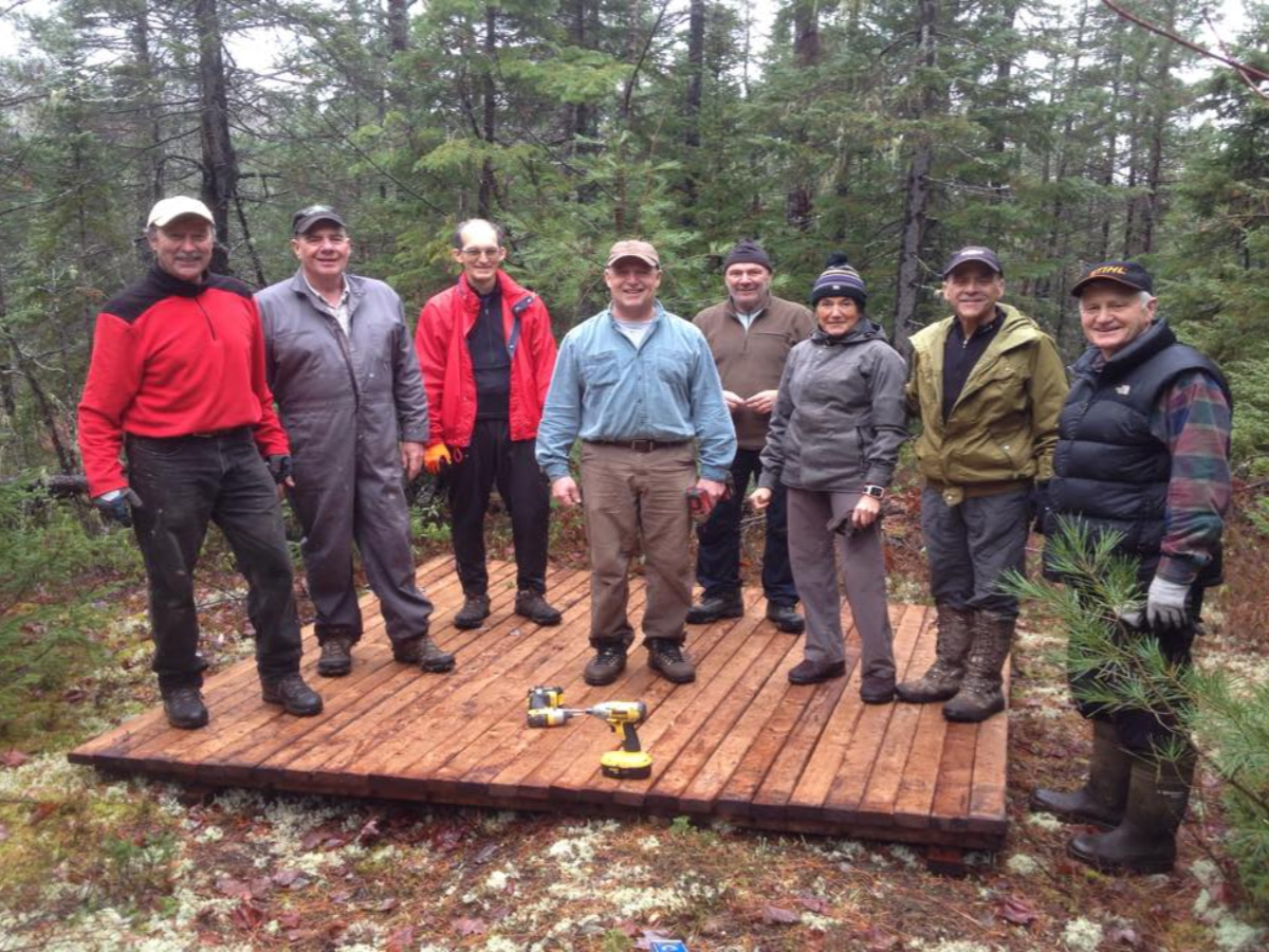 Sentier Nepisiguit Mi'gmaq Trail-taking care of the trail
