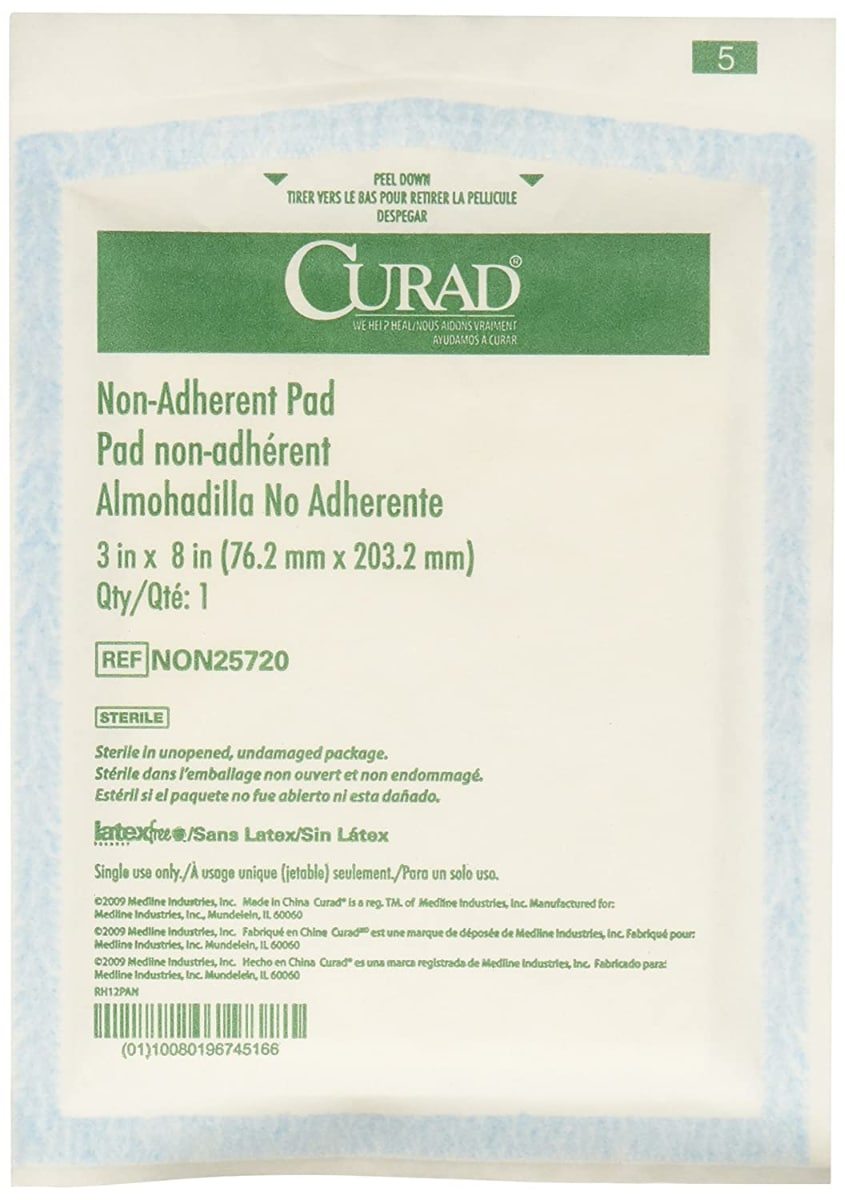 Medline Curad Sterile Non-Adherent Pad