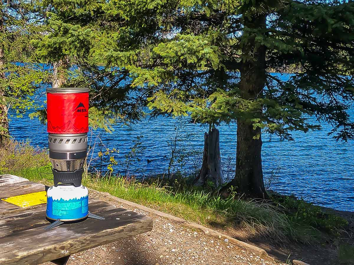 Read our review on the MSR Windburner stove