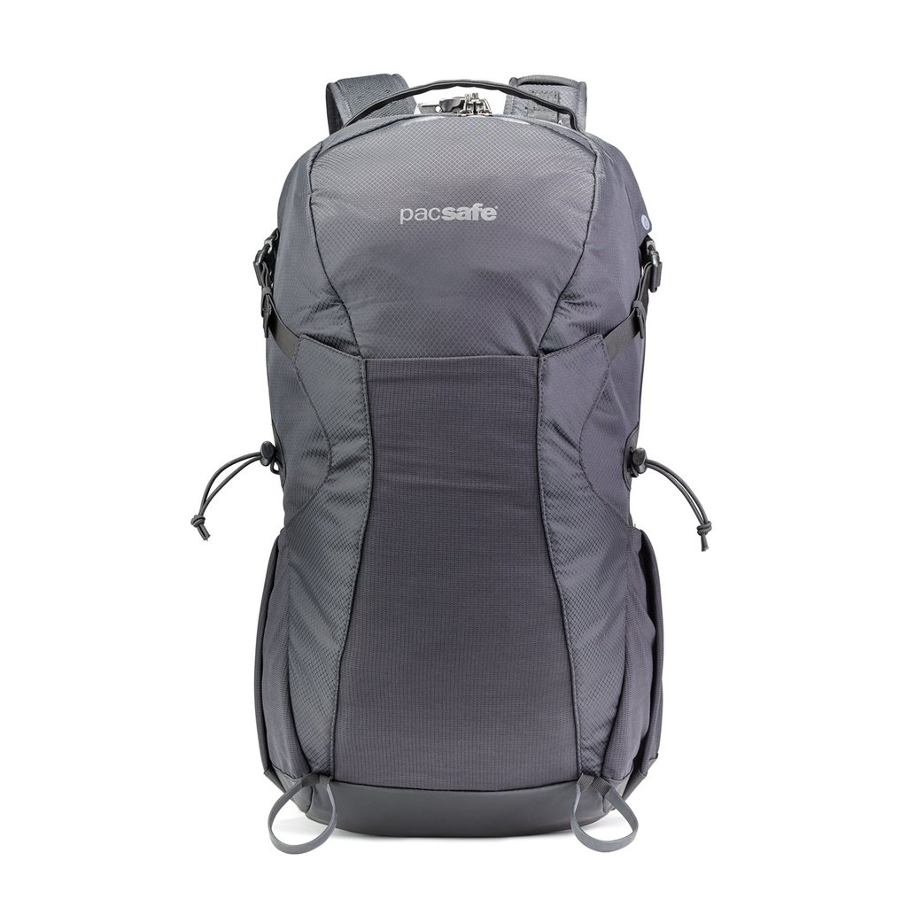 Pacsafe Venturesafe 34L review and rear view