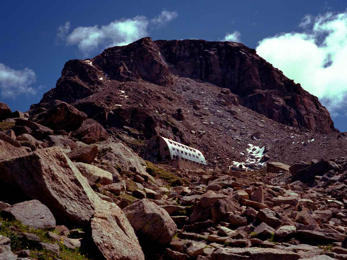 Rifugio Vittorio Emanuelle II is a stop for those willing to climb Gran Paradiso