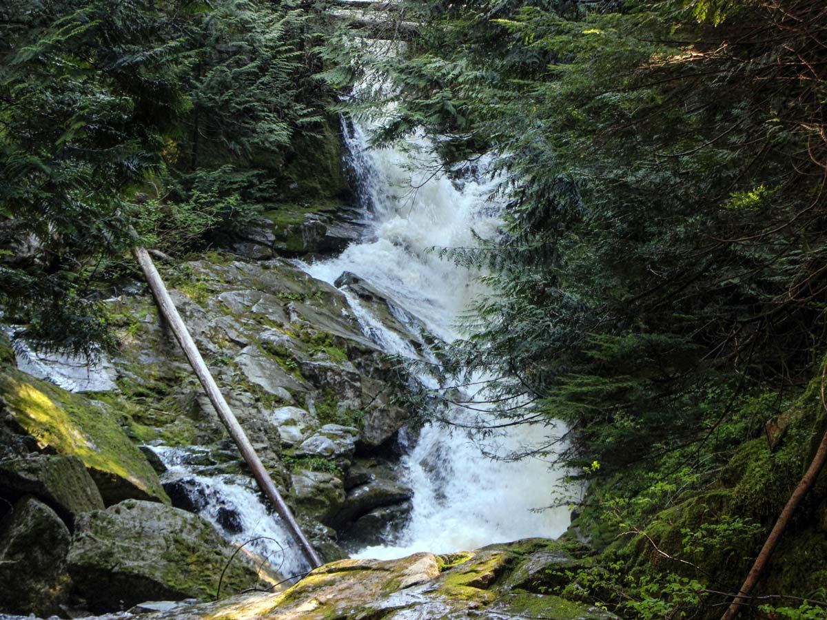 Sawblade Falls hike east of Vancouver British Columbia