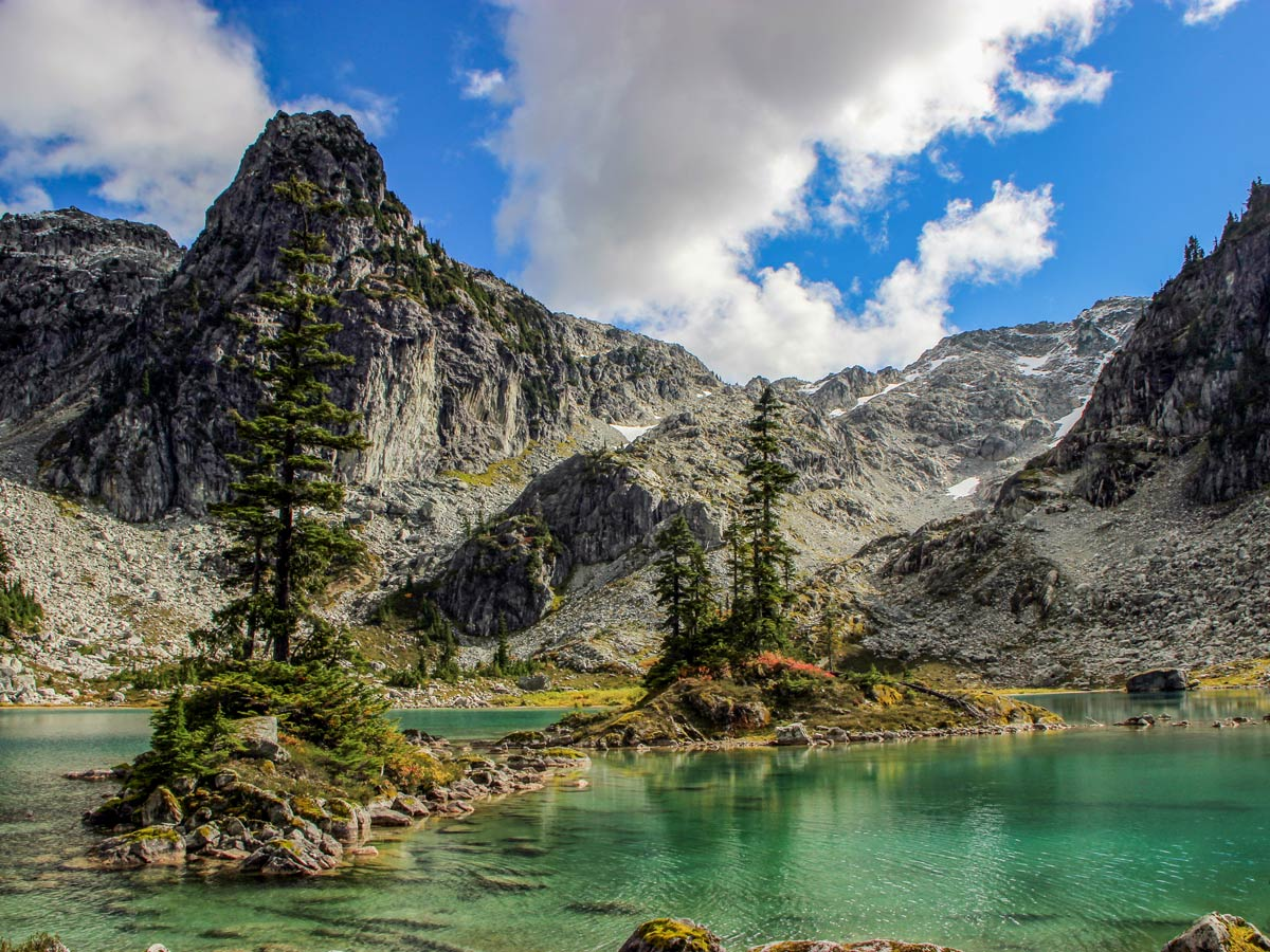 Watersprite Lake is a stunning location that you can hike to from Squamish