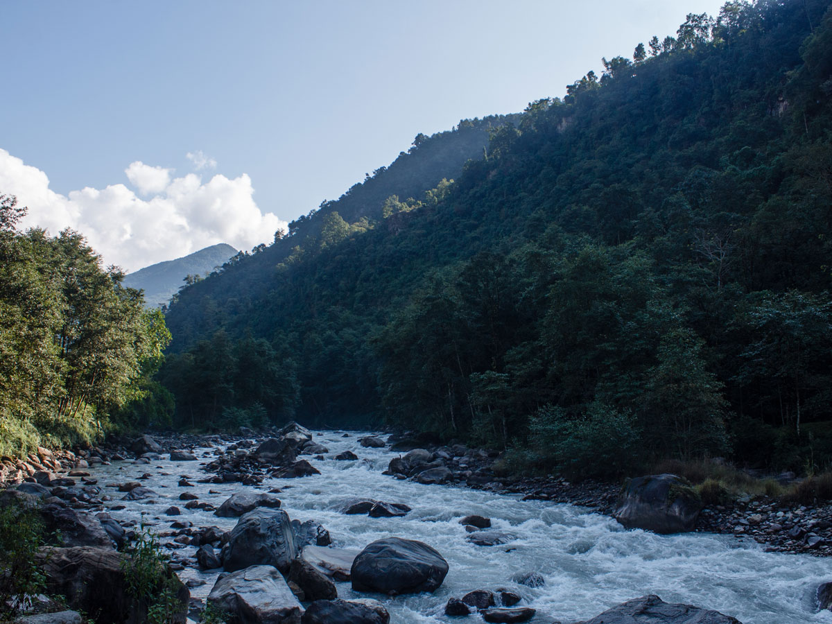 River in Himalayas (Nepal)