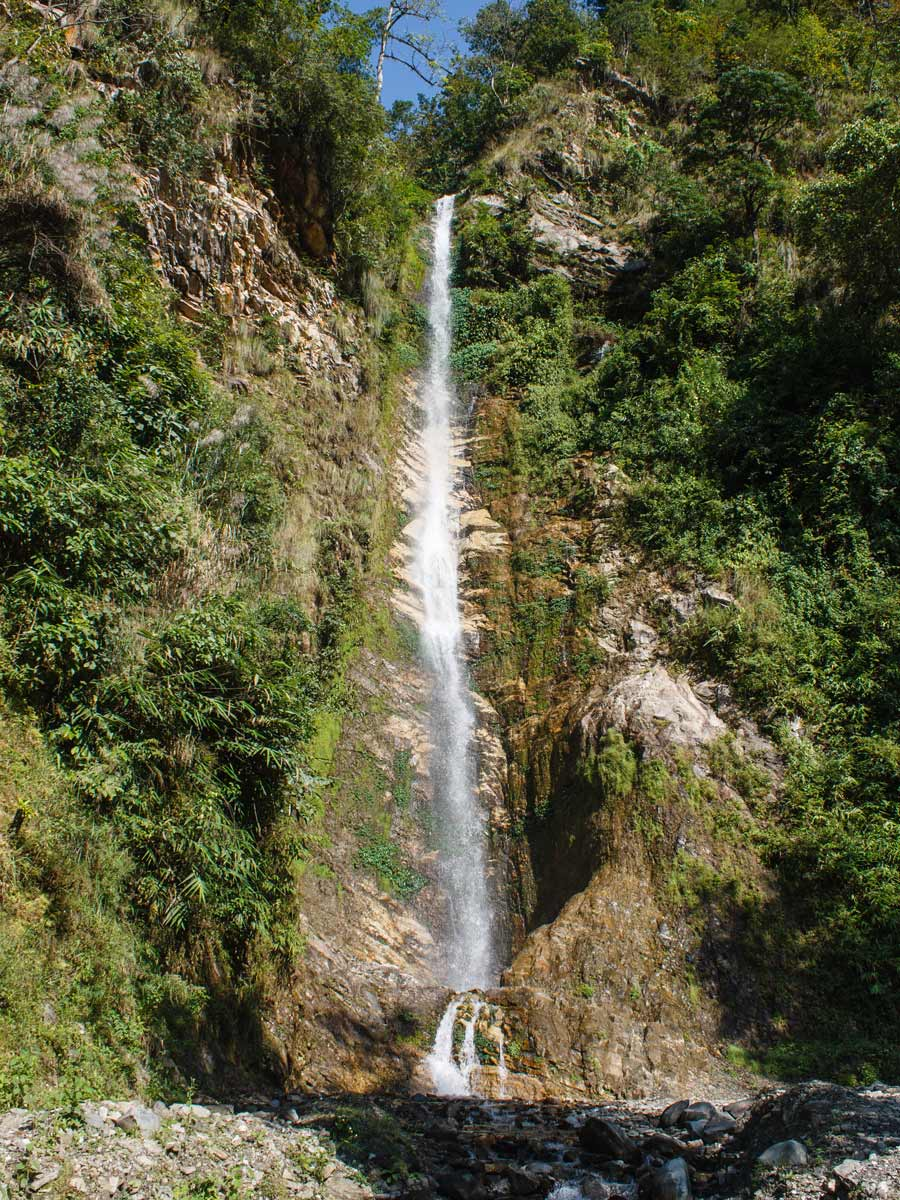 Waterfall along the Poon Hill route