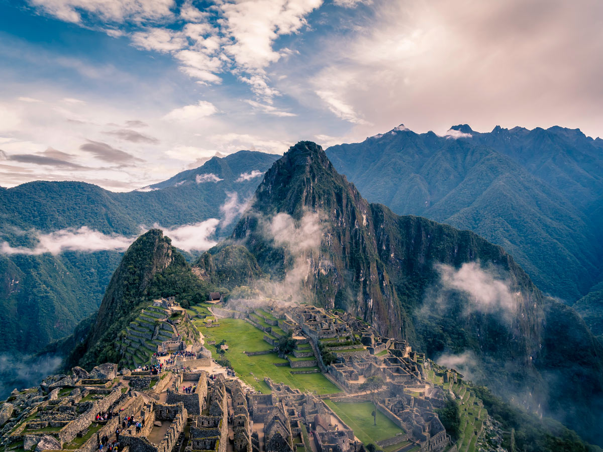 Ancient historic Machu Picchu