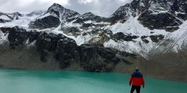 Backpacking trails in Whistler