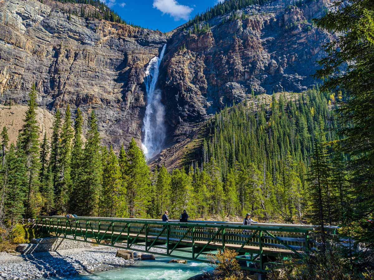 Yoho National Park Takakkaw waterfall