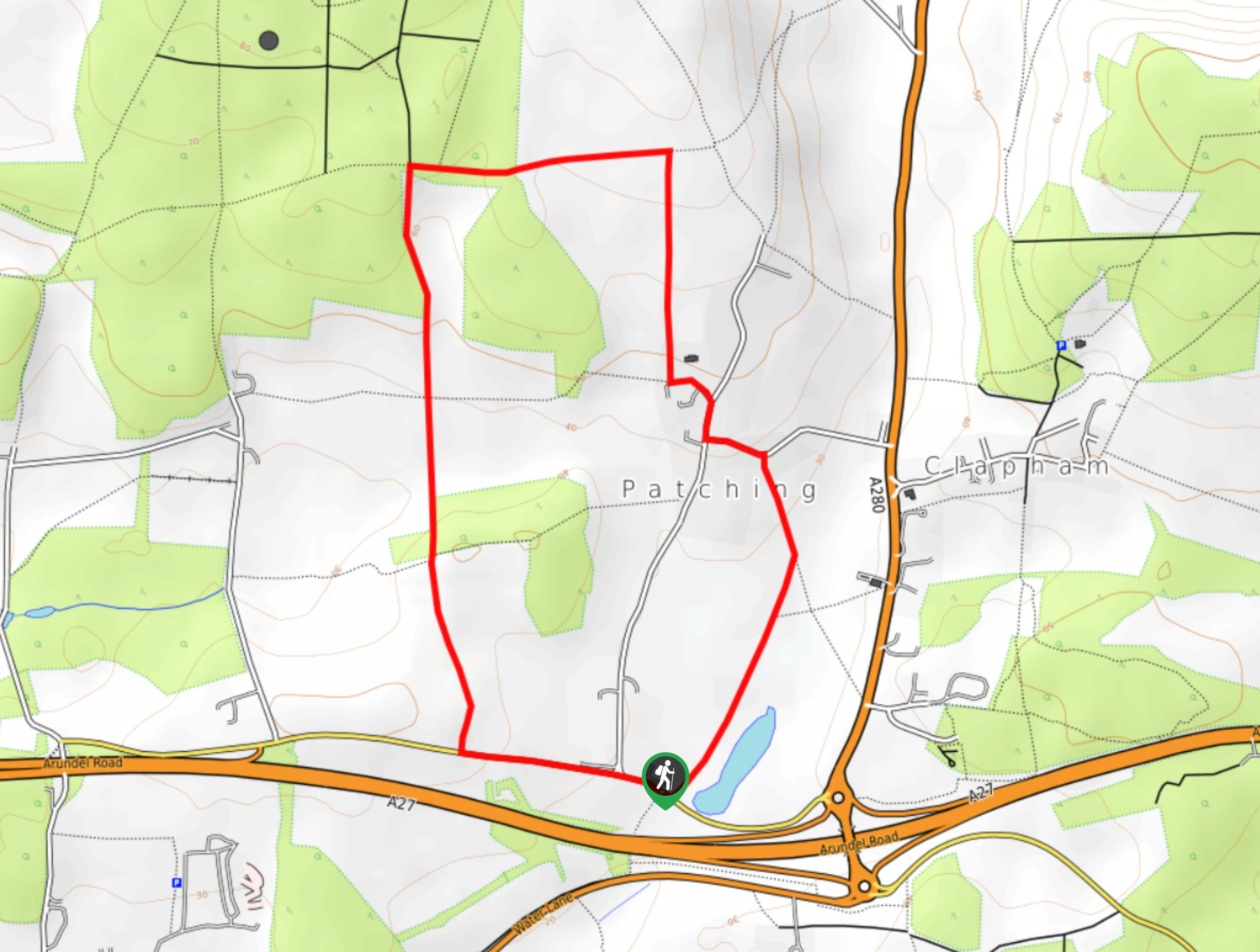 Worlds End and Patching Circular Walk Map