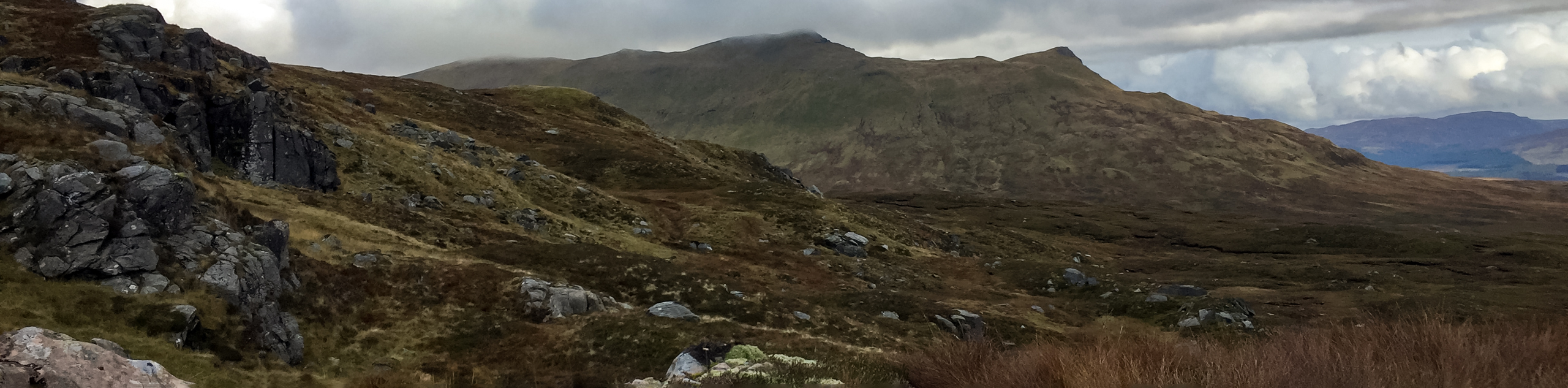Meall Glas and Sgiath Chuil Walk
