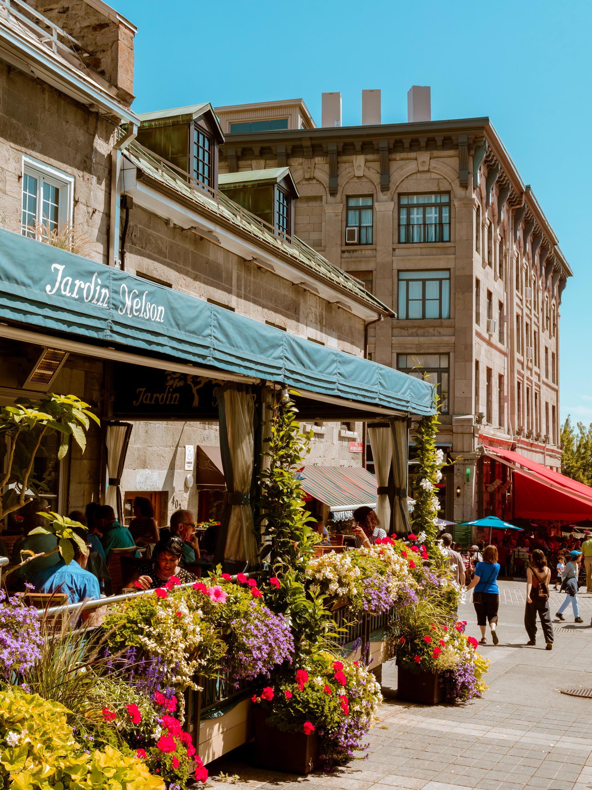 Montreal's Old City historic district