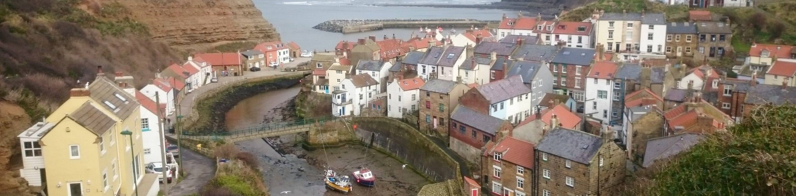 Staithes and Cowbar Nab Walk