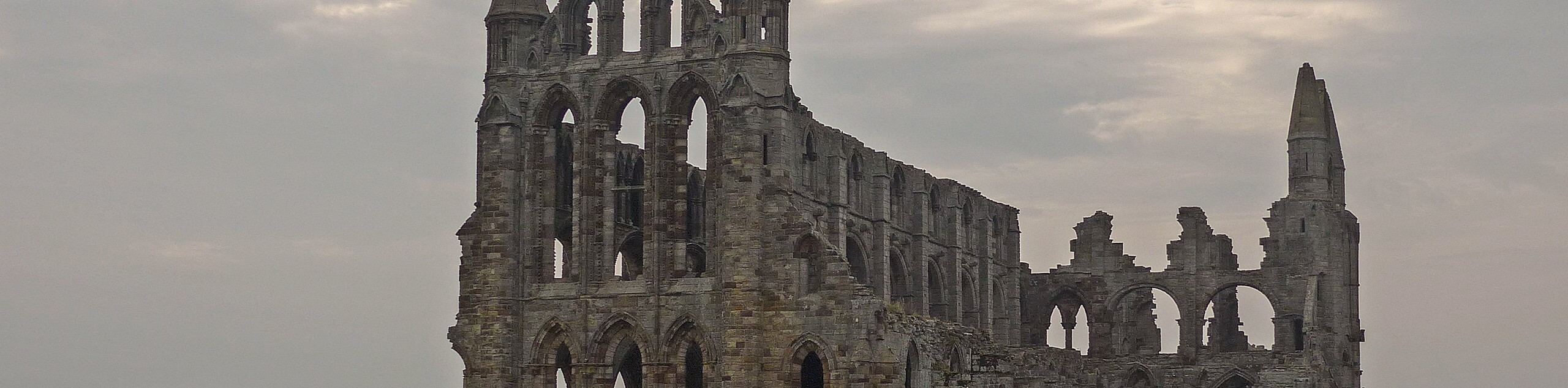 Whitby Abbey and the Dracula Trail