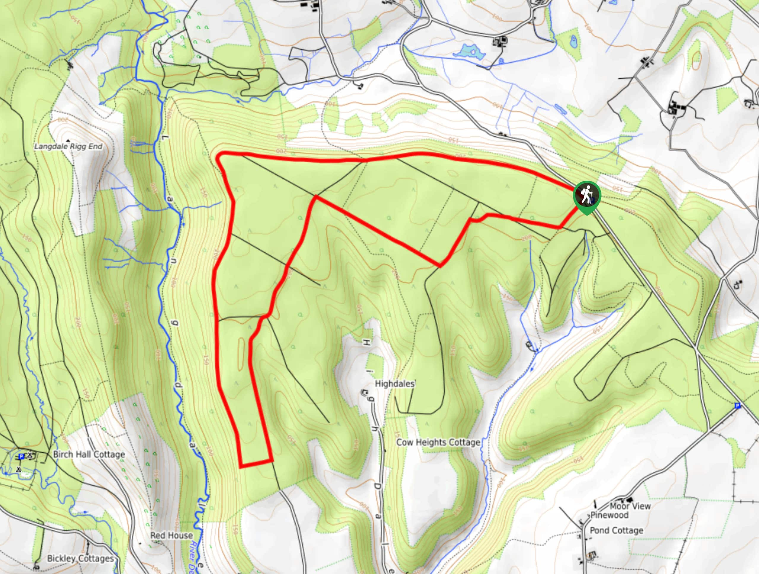 Broxa Forest Trail Map