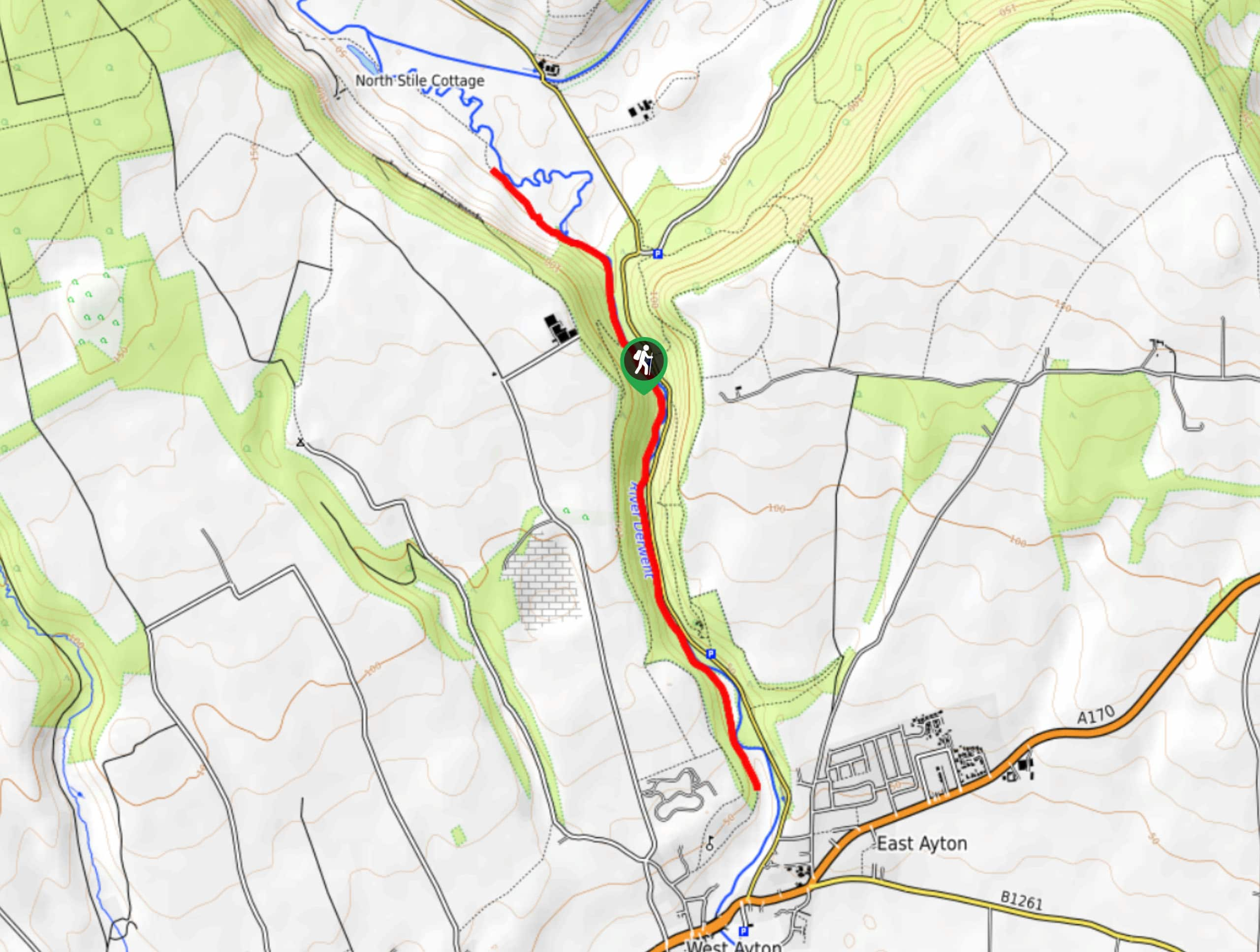 Forge Valley Woods Walk Map